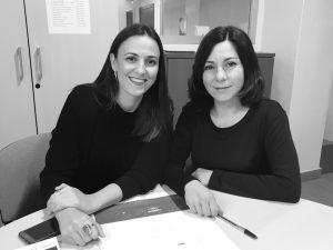 María Fuster y Llum Moral. Oficina de Defensa de Derechos para Personas con Problemas de Salud Mental